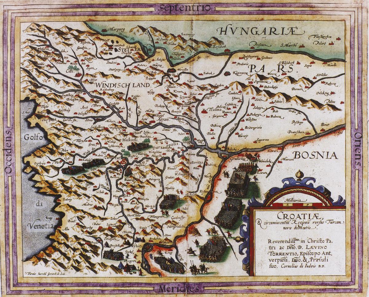 Carte Ancienne Croatie.Croatie Eu L Union Du Royaume Croate A La Couronne Hongroise